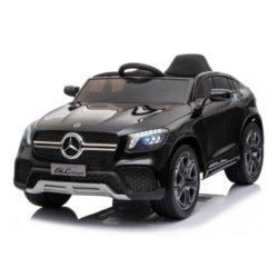 Детский электромобиль Mercedes-Benz Concept GLC Coupe BBH-0008 черный (колеса резина, кресло кожа, пульт, музыка)